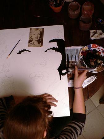 Série Chromatologie - Portrait de Marilyn Monroe