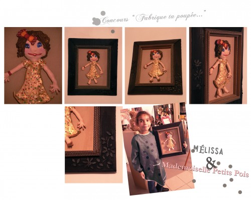 concours de poupée,adolie day, Mélissa, Mademoiselles Petits Pois