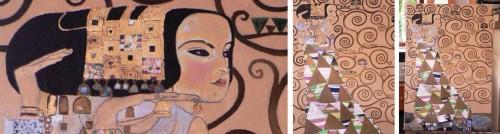 stages d'été,arts plastiques,arts naïf,bernard vercruyce,couleurs,composition,gouache,peinture,animaux