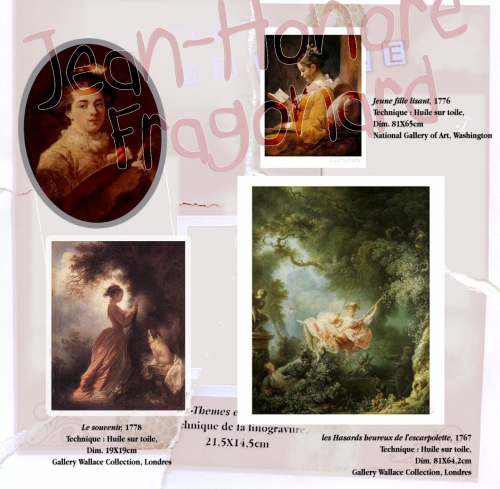 edgar degas,jean-honoré fragonard,peinture à l'huile,pastel